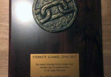Overall winnaar Sterkste Schakel regio Rijnland