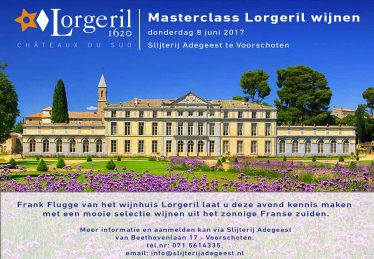 Masterclass Lorgeril wijnen