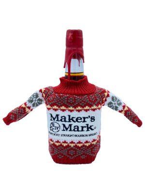 Maker's Mark met Kersttrui