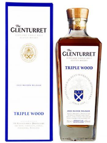 Glenturret Triple Wood Single Malt met doos