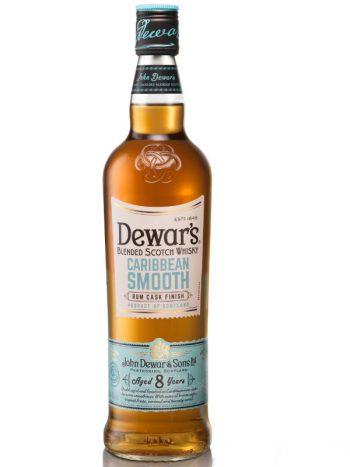 Dewar's Caribbean Smooth 8yo whisky rum cask finish